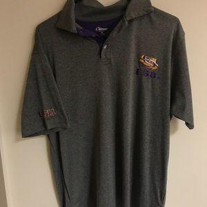 Men's LSU Polo size Medium
